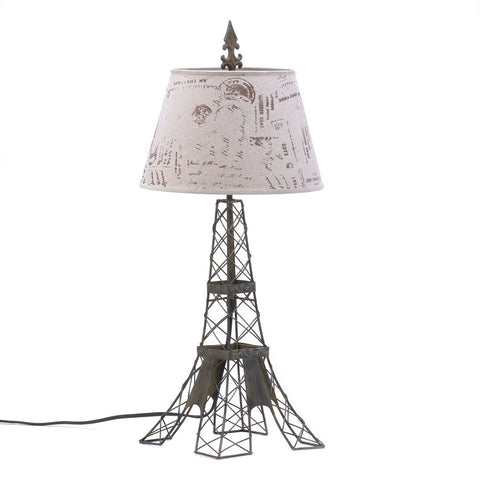 Eiffel Tower Table Lamp - shophomegardens.com