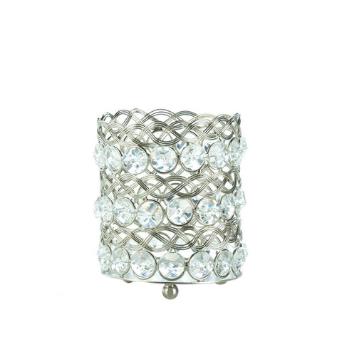 Eternity Small Glass Candle Holder - shophomegardens.com