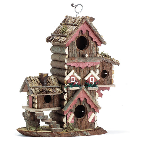 Gingerbread Style Birdhouse - shophomegardens.com