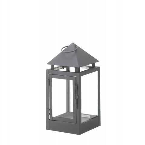 Matte Finish Contemporary Lantern (small) - shophomegardens.com