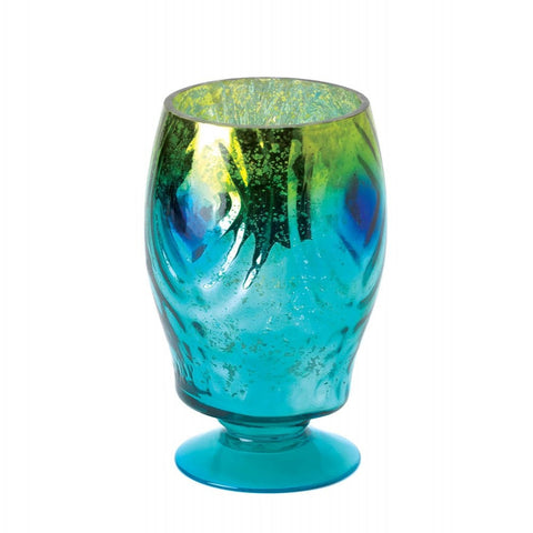 Regal Peacock Candle Lantern - shophomegardens.com