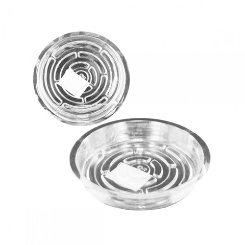 Transparent Planter Saucer - shophomegardens.com