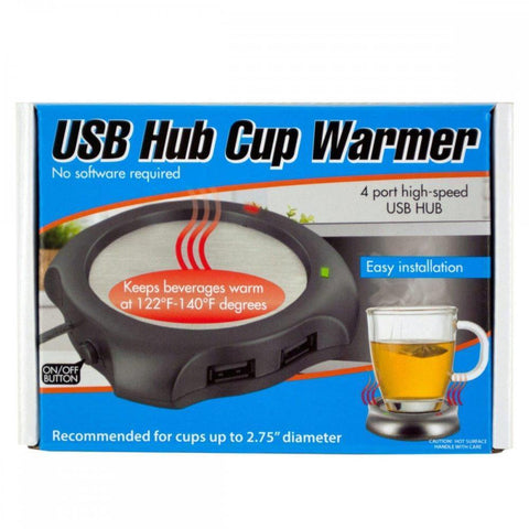 4 Port Usb Hub Cup Warmer