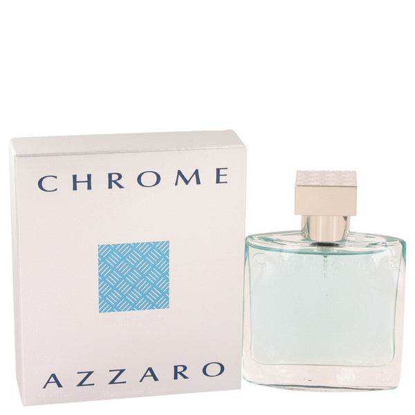 Chrome by Azzaro 1.7 oz Eau De Toilette Spray for Men