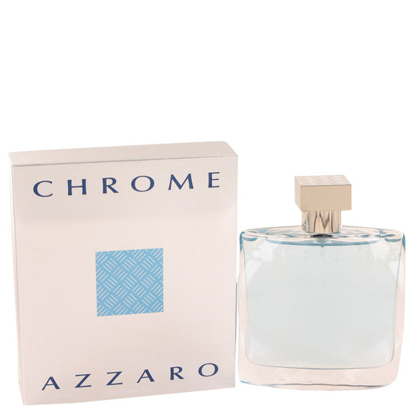 Chrome by Azzaro 3.4 oz Eau De Toilette Spray for Men