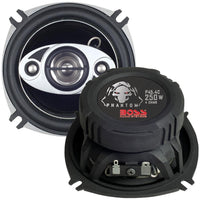 "Boss Audio Phantom Series Speakers With Electroplate-injection Cones (4"")"