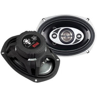 "Boss Audio Phantom Series Speakers With Electroplate-injection Cones (6"" X 9"")"