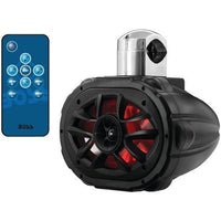 "Boss Audio 6"" X 9"" 600-watt 4-way Marine Wake Tower Speaker With Rgb Led Lights"