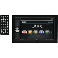 "Boss Audio 6.2"" Double-din In-dash Dvd And Mp3 And Cd & Am And Fm Receiver With Bluetooth"