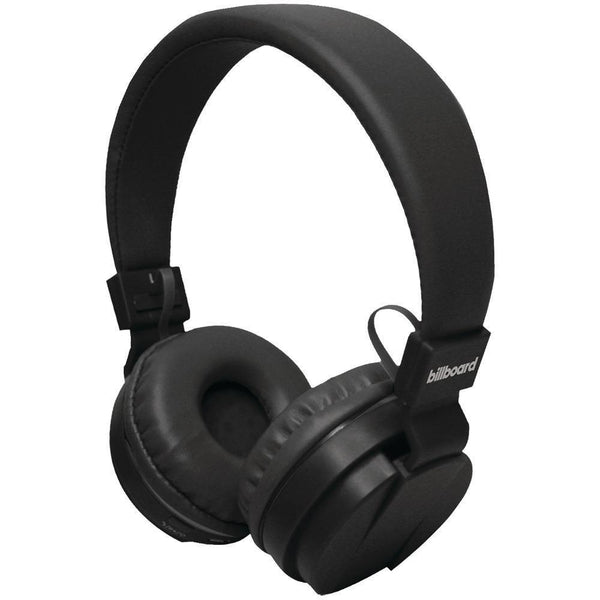 Billboard Large On-ear Bluetooth Headphones (black)