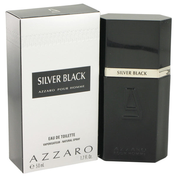 Silver Black by Azzaro 1.7 oz Eau De Toilette Spray for Men