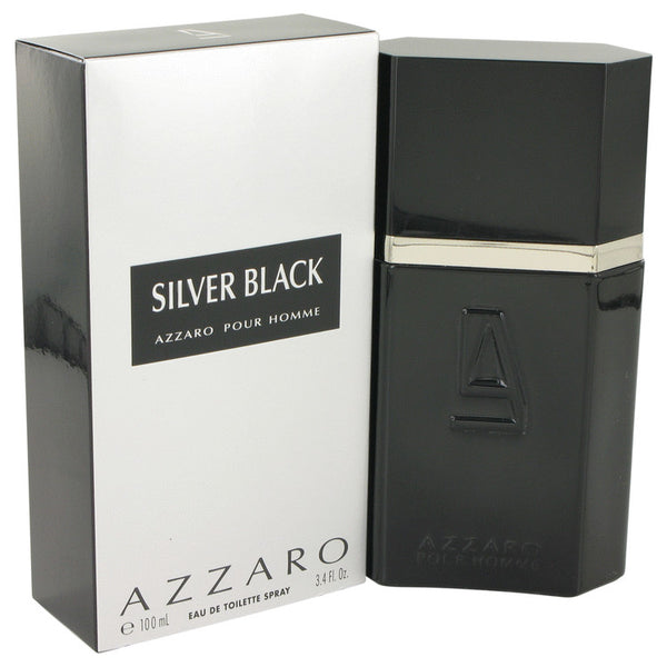 Silver Black by Azzaro 3.4 oz Eau De Toilette Spray for Men