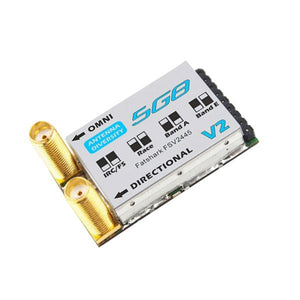 Fatshark 5G8 32Ch Race Band Fat Shark 5.8GHz Receiver w/Dual SMA V2 FSV2445