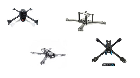 different drone frames