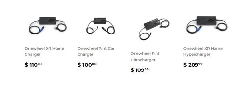 onewheel chargers