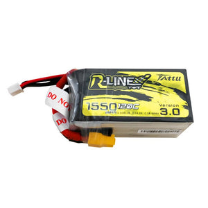 Tattu R-Line Version 3.0 1550mAh 5S1P 120C Lipo Battery