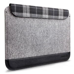 "Inateck Ultra Slim 12  MacBook Air Sleeve Case Cover Protective Bag for Apple MacBook Air 12"", Gray"