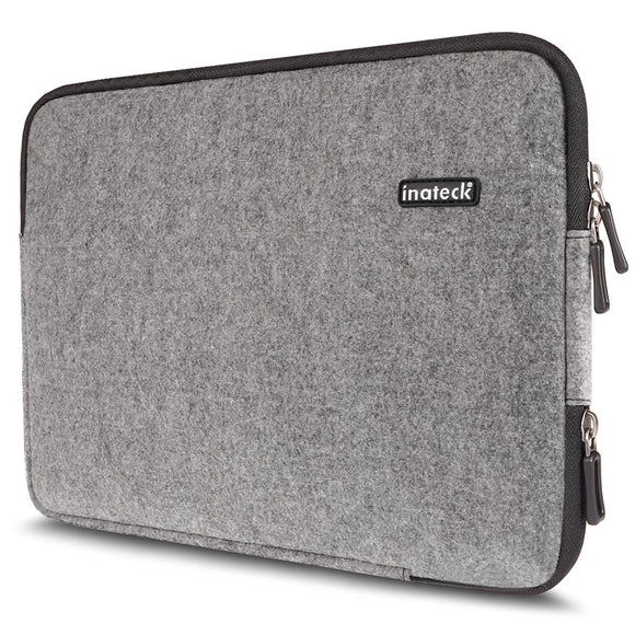 Inateck Ultra Slim 13-13.3 Inch Apple MacBook Air/ Pro Retina Sleeve Case Cover Carrying Case Protector Bag, Gray