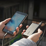 Anker PowerCore 10000 Portable Charger, One of the Smallest and Lightest 10000mAh External Battery, 10000mAh Ultra-Compact Fast-Charging-Technology Power Bank for iPhone, Samsung Galaxy and More