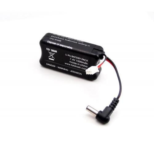 FatShark 7.4V 1000mAh LiPo Battery