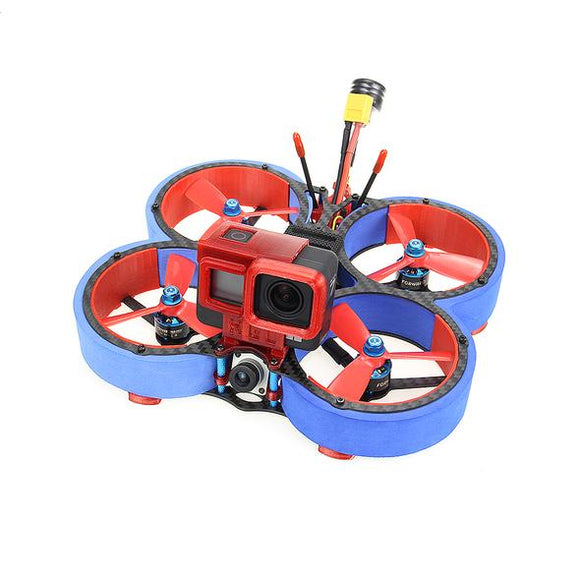 HGLRC Veyron 3 Cinewhoop FPV Racing Drone with Caddx Vista 4S/6S - Blue