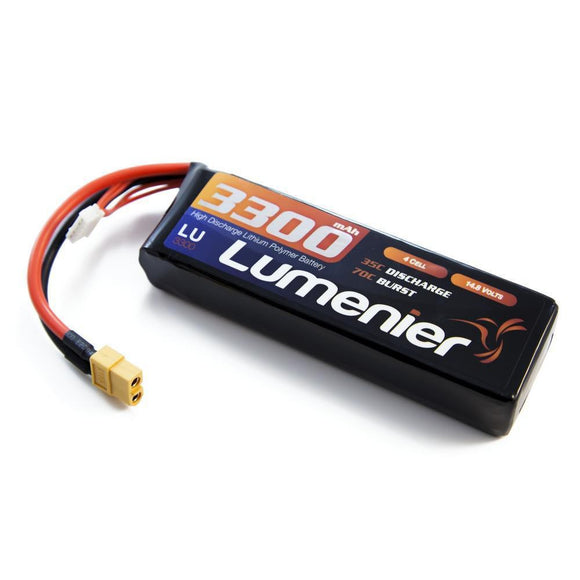 Lumenier 3300mAh 4s 35c Lipo Battery (XT60)