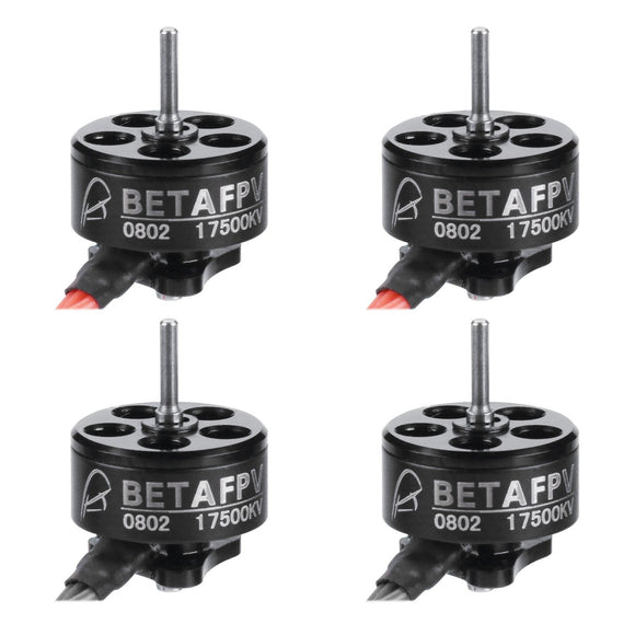 BETAFPV 0802 17500KV Brushless Motor (4 Pcs)