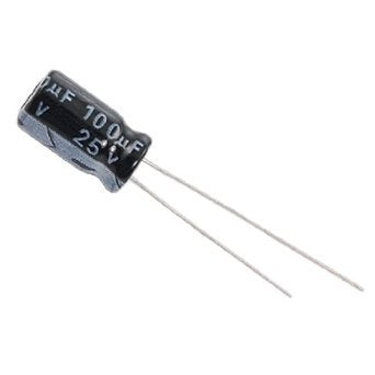 25V 100uF LOW ESR Capacitor