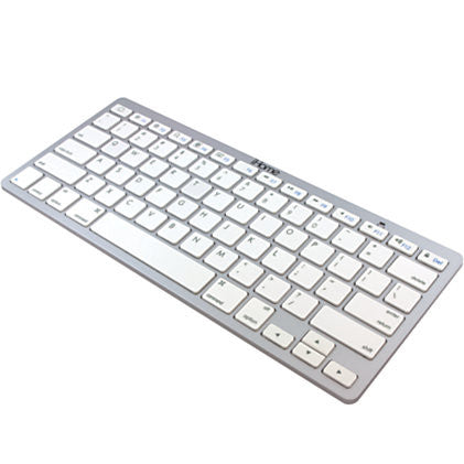 iHome Compact Wireless Bluetooth® Keyboard, Silver