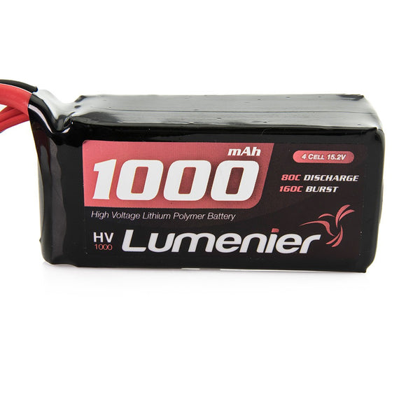 Lumenier 1000mAh 4s 80c 15.2V High Voltage Lipo Battery