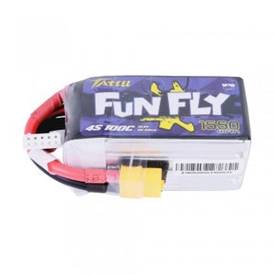 Tattu FunFly 1550mAh 4s 100C Lipo Battery