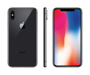 iPhone X Black 64GB CDMA Unlocked Space Gray