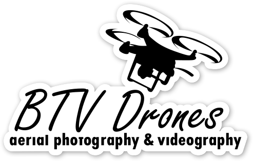BTV Drones Stickers