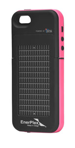 Enerplex Surfr Pink 2000 Mah Solar & Battery Iphone 5/5S Cell Phone Case
