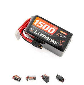 Lumenier Silicon Graphene 1500mAh 6s 95c Lipo Battery