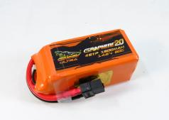 DINOGY GRAPHENE 2.0 1300mAh 4S 80C LIPO BATTERY