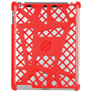 Scosche webKASE for iPad 3 and iPad 2, Red (IPD2HFR)