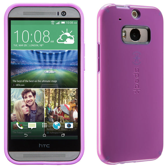 Speck Products CandyShell Case for HTC One M8 - Beaming Orchid Purple