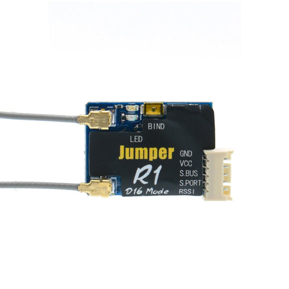 Jumper R1 - D16 Frsky Compatible Micro Receiver with S.Port and S.bus