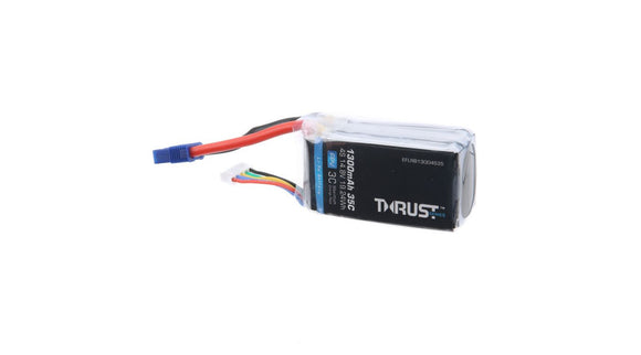 Thrust 14.8V 1300mAh 35C 4S Lipo Battery