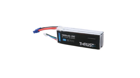 Thrust 14.8V 1800mAh 35C 4S Lipo Battery