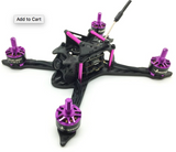 HGLRC XJB V2 38A 145mm PNP Mini Quadcopter (Purple)
