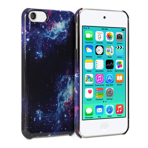 Snap Cover Glossy (Galaxy Pattern) for Apple iPod touch 6