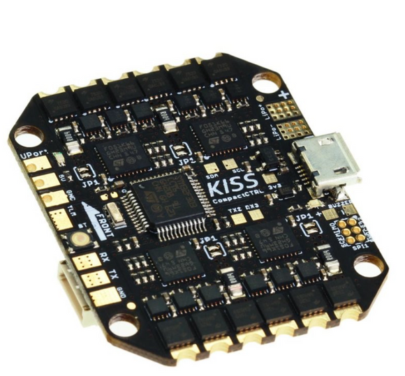 KISS CompactCTRL CC All-in-One (FC + 16A ESC x4)