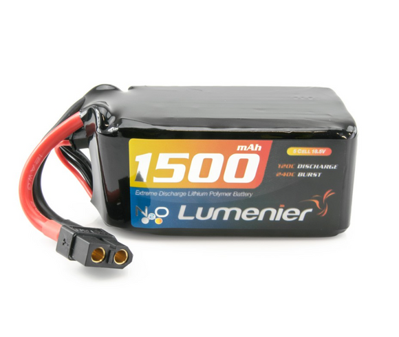 Lumenier N2O 1500mAh 5s 120c Lipo Battery