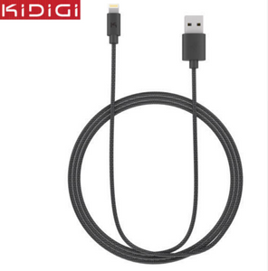 KiDiGi MFi Certified Original Nylon Strong Braided 2M 8Pin Data Sync & Charger Cable For iPhone 6/Plus/5S/5C/5 iPad Mini/Air 2