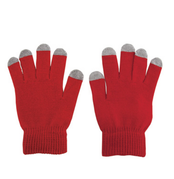 Touch Screen Gloves (Red)