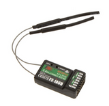Flysky 2.4G 6CH FS-iA6B Receiver PPM Output With iBus Port Compatible with FS-i4 FS-i6 FS-i10 FS-GT2E FS-GT2G