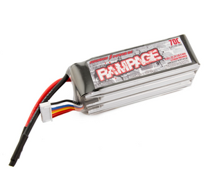 Thunder Power Rampage 1800mAh 6s 70c Lipo Battery