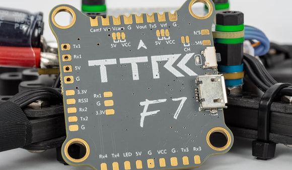 TransTEC F7 Flight controller - Special edition Yellow